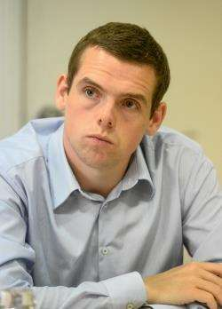 Councillor Douglas Ross is standing as the Conservative candidate in next year's General Election.