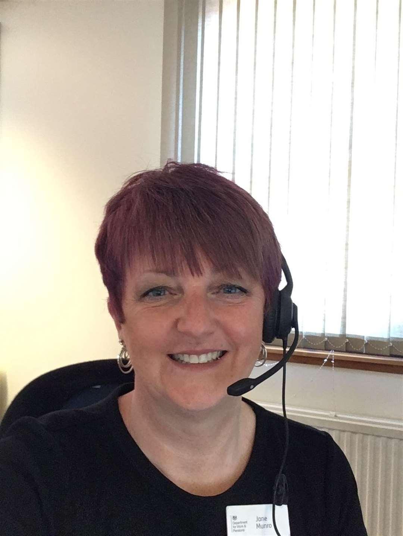 DWP employer and partnership manager Jane Munro.