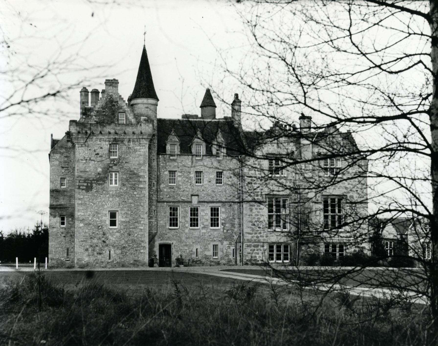 Brodie Castle, which is said by some to be haunted.