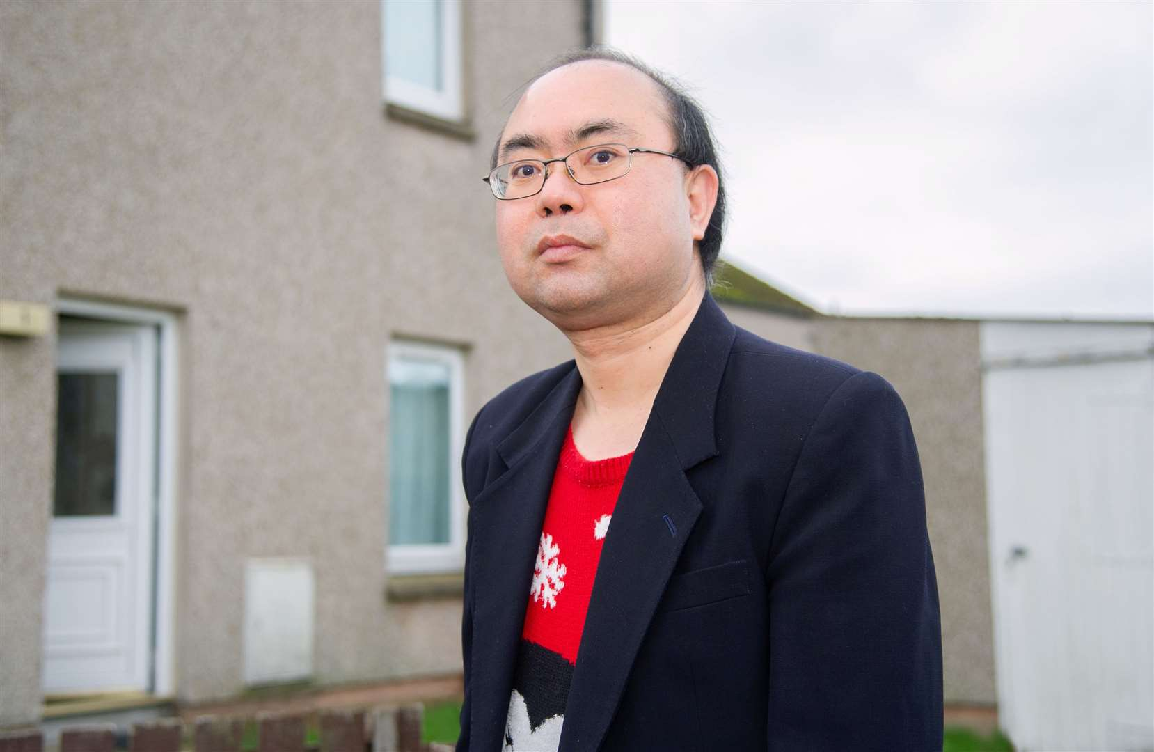 China-born Matthew Jun Fei Freeman is fighting against deportation. He has been in the UK since 2003 and in Moray since 2012, having lived in Forres and now Lossiemouth. ..Picture: Daniel Forsyth..