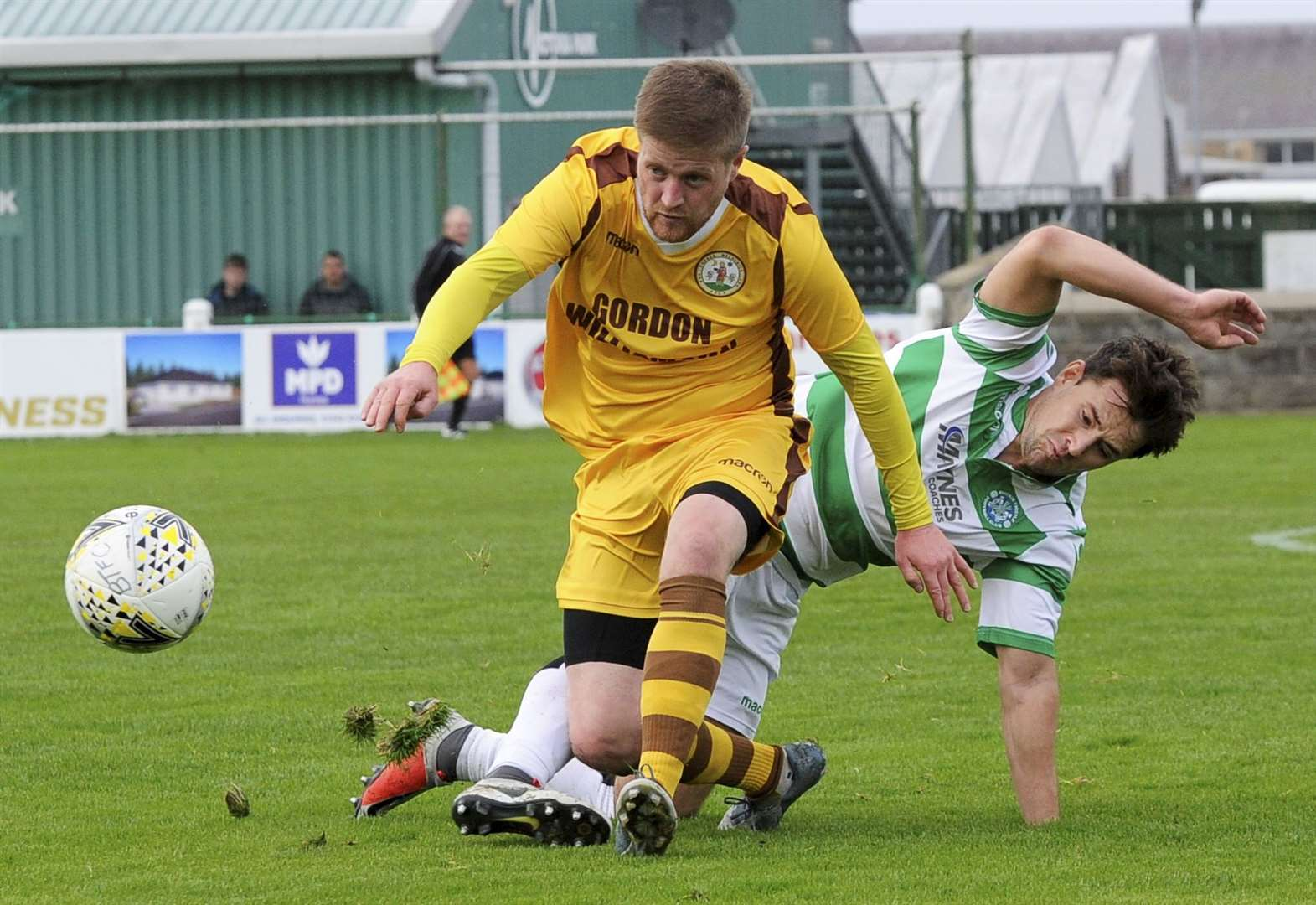 Forres Mechanics midfielder Robbie Duncanson up for cup after Wick win