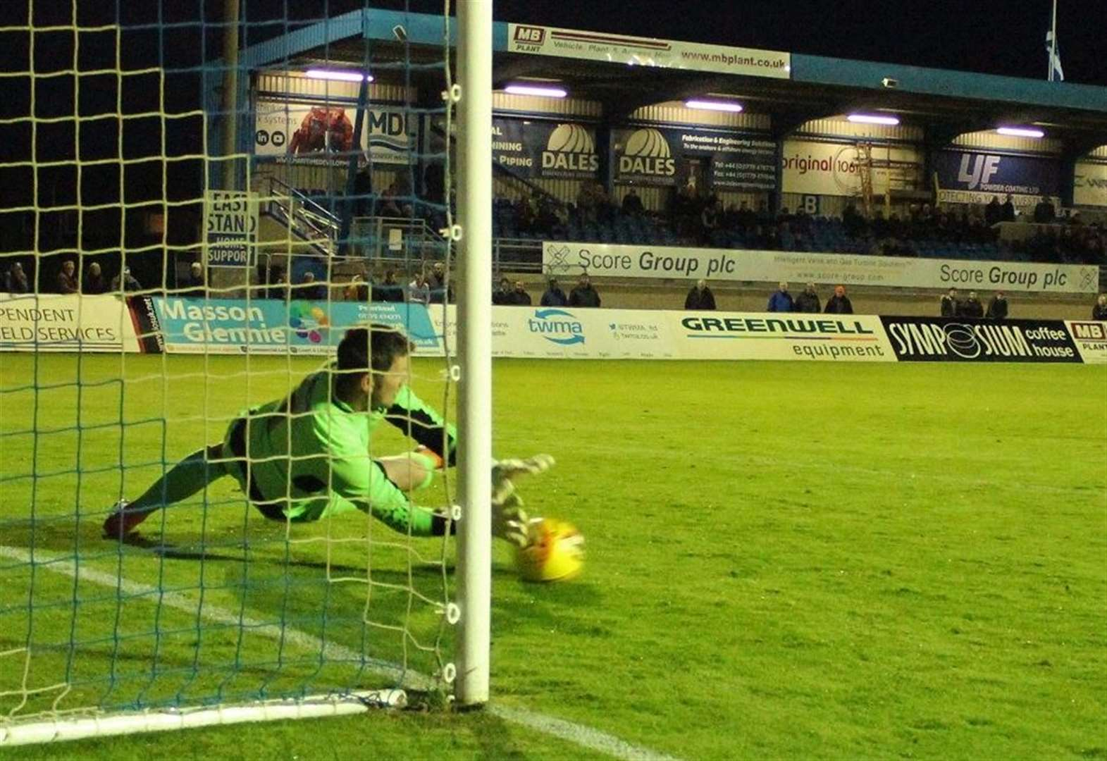 Keeper is Formartine's Main man to knock out former club Buckie