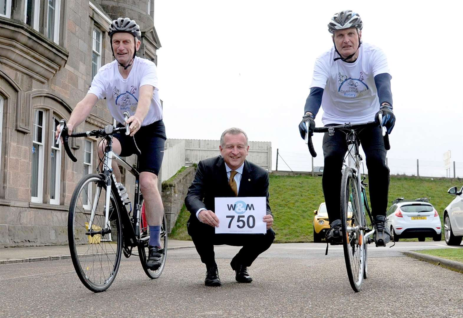 Cyclists wanted for Rotary Triple Challenge
