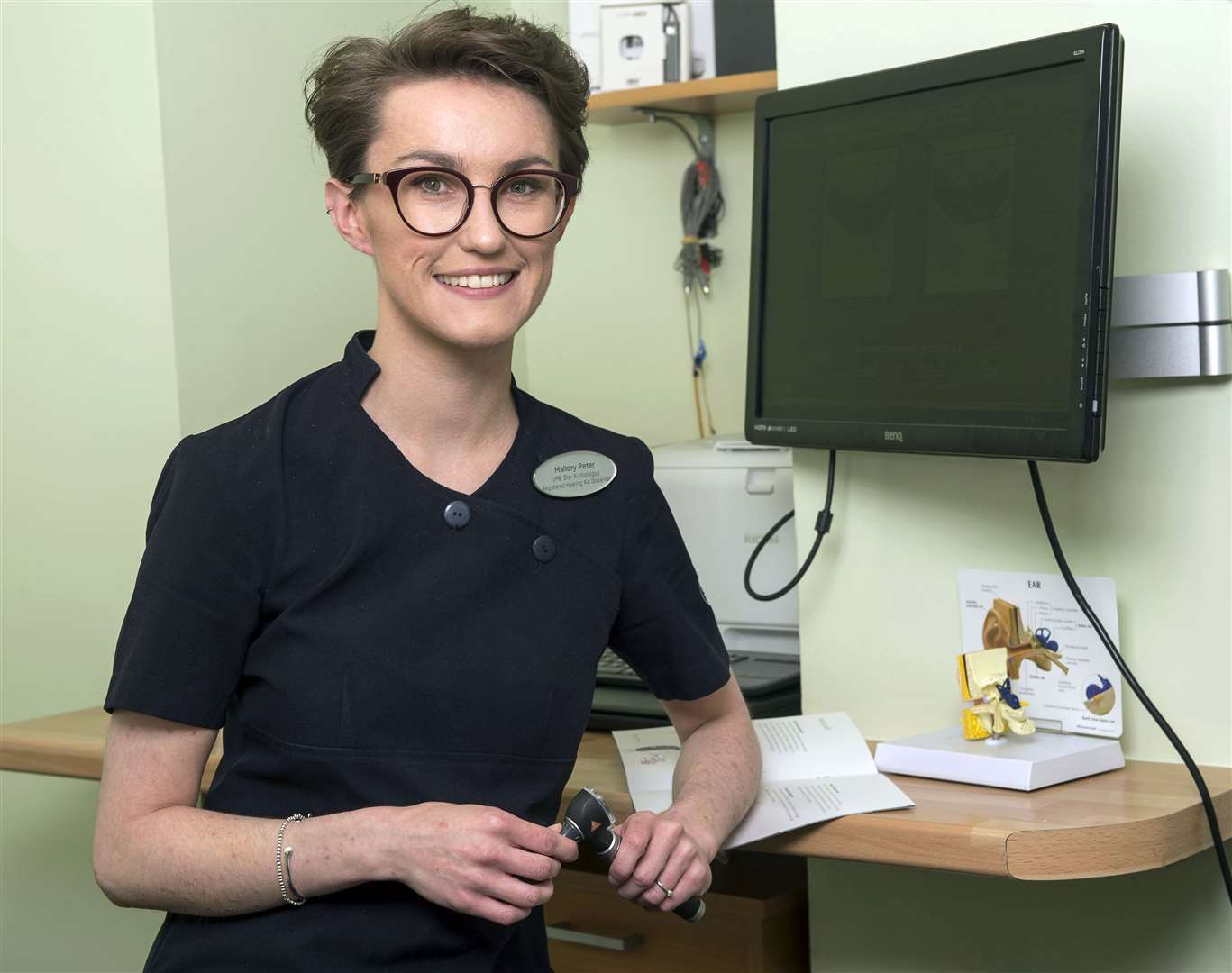 Mallory Peter, director at Specsavers Hearing Services Elgin.