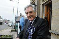 New Heldon and Laich councillor John Cowe
