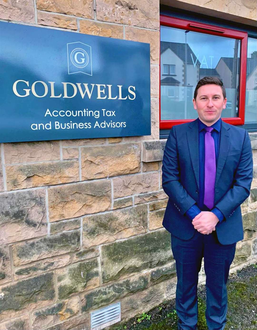 Accountant Ranald McDonald, from Goldwells' Elgin and Buckie offices.