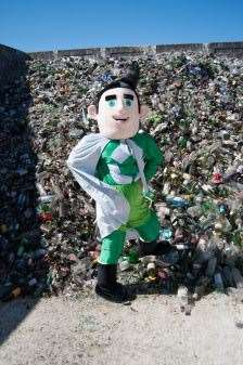 Moray residents have won praise for their efforts to recycle after figures revealed the area is performing well nationally.