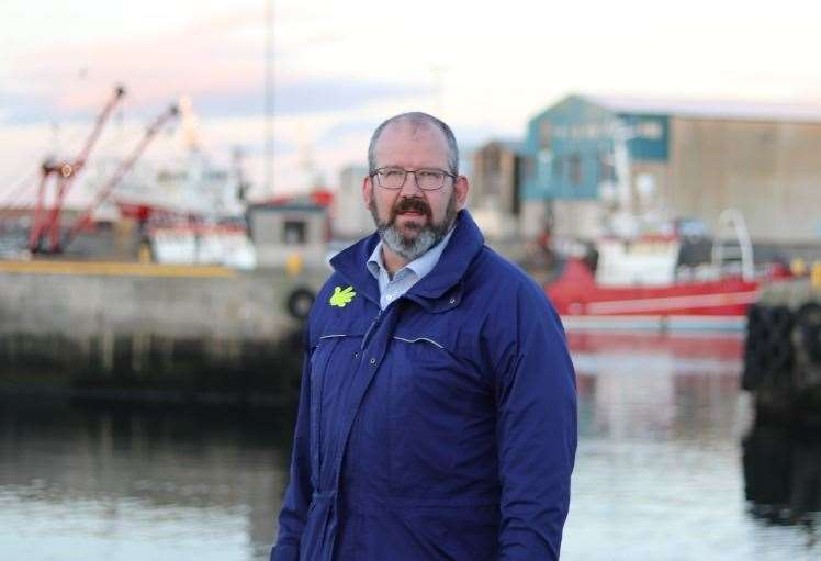 Konservativni nominiranec za Bonfshire in Buchanan Coastmark Finder.