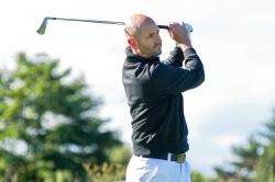 Elgin pro Michael McAllan had a solid opening round at the Northern Open at Moray.