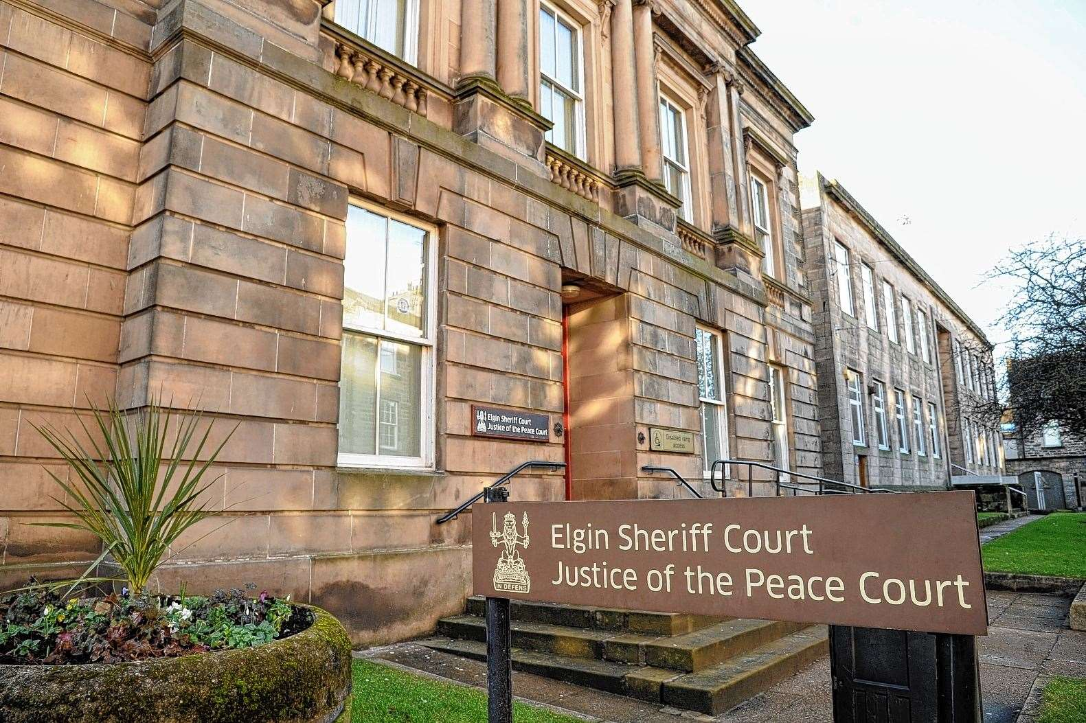 Jordan Mackenzie appeared at Elgin Sheriff Court on Thursday.