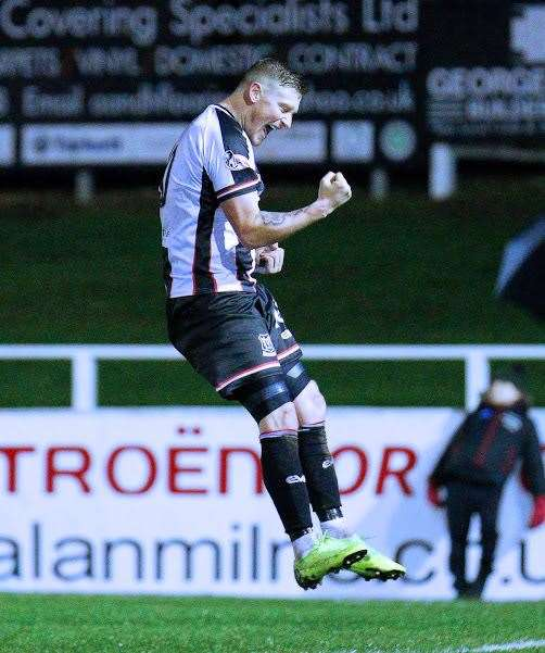 Elgin City's Shane Sutherland is attracting transfer interest in the January window. Photo: Bob Crombie