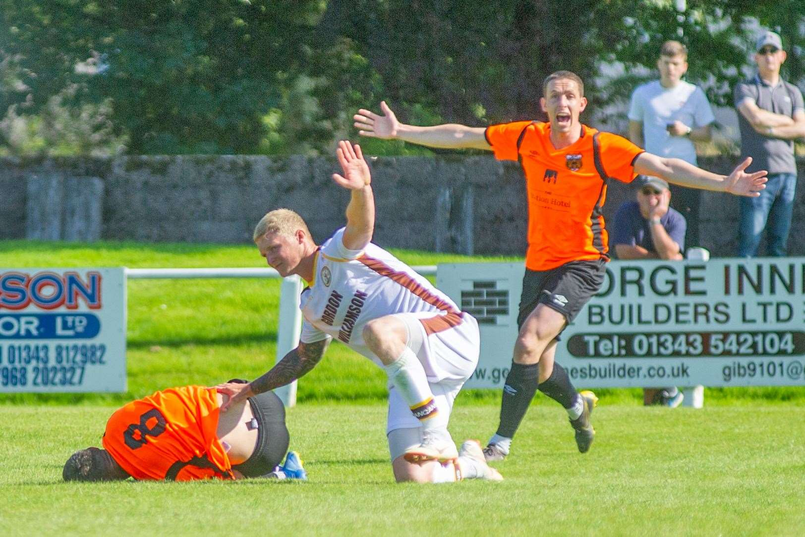 Rothes travel to Forres tomorrow. Picture: Daniel Forsyth
