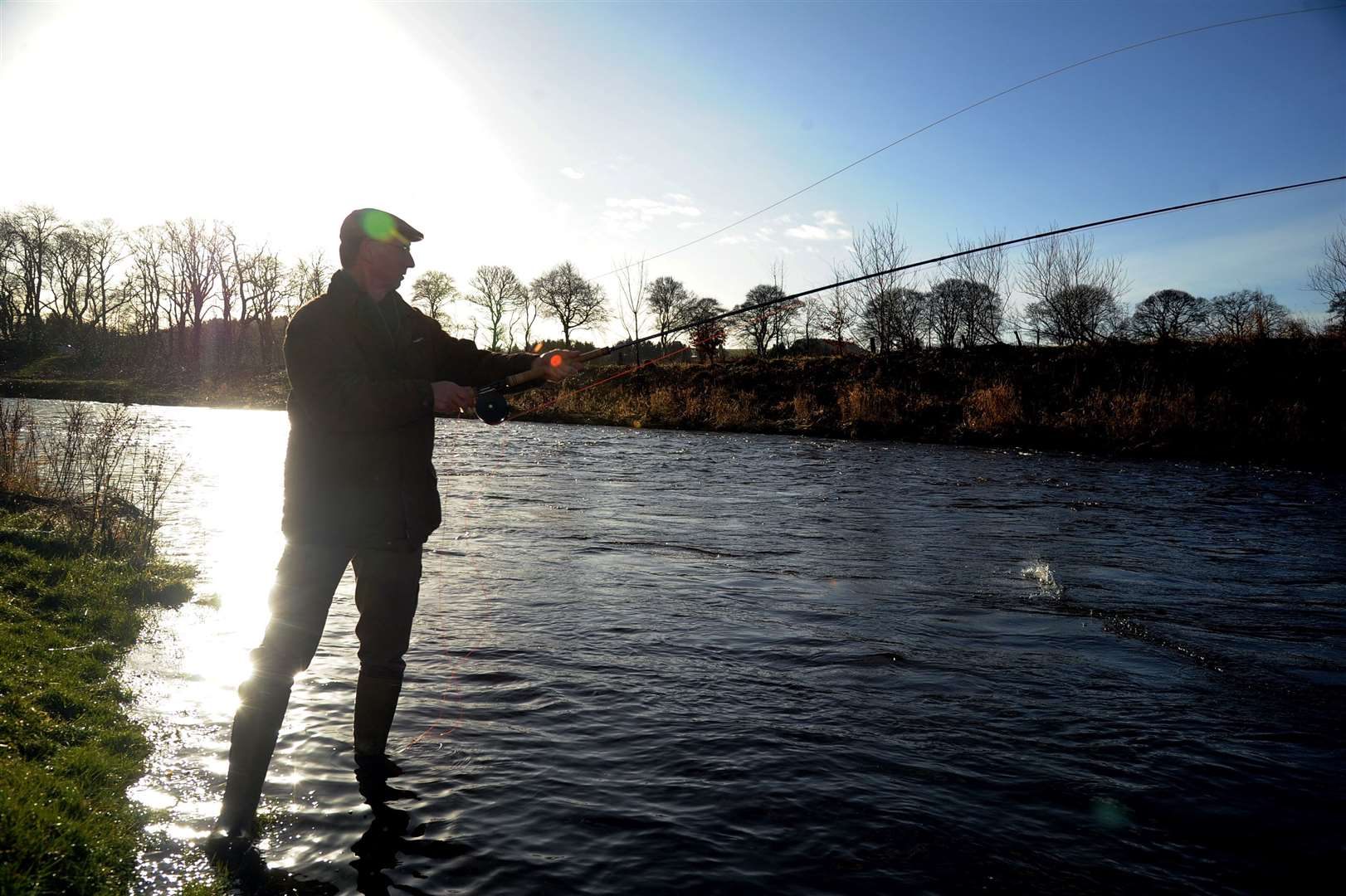 Anglers can take to the rivers again.