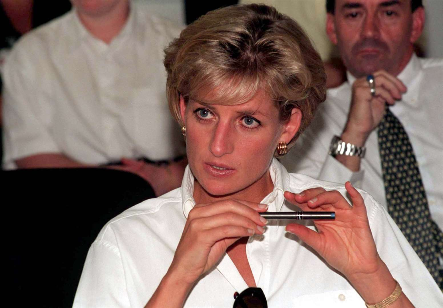 During her bombshell Panorama interview Diana declared 'Well, there were three of us in this marriage, so it was a bit crowded' (John Stillwell/PA)