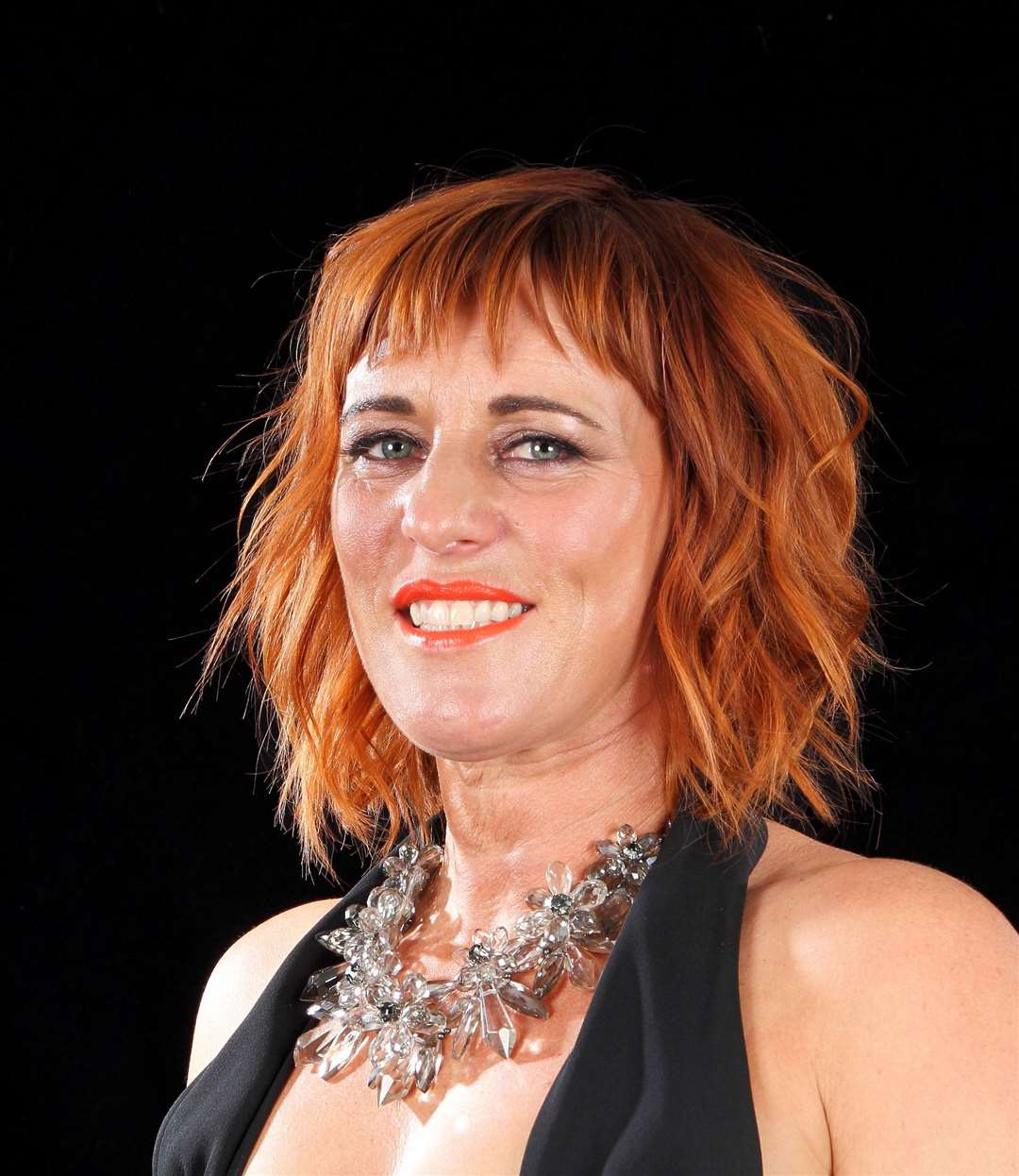 KAM owner Karen Thomson, who is the current Scottish Hairdresser of the Year.