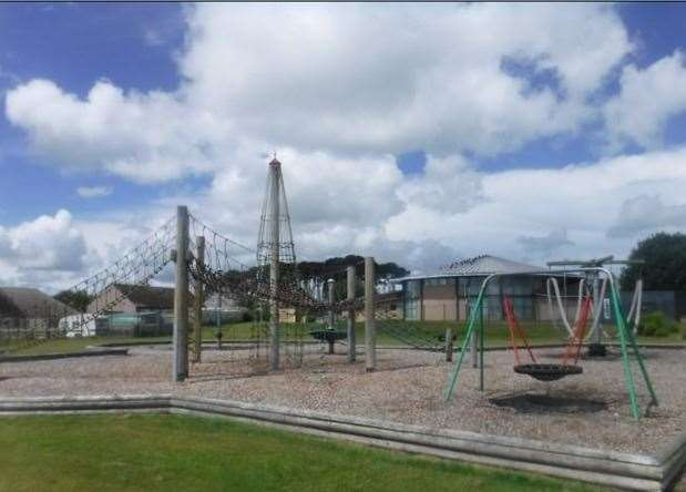 The playpark in Lhanbryde.