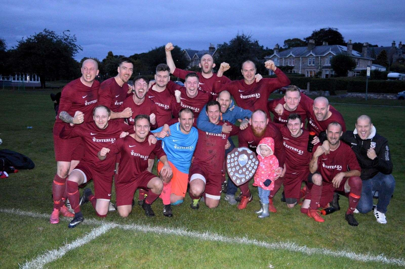 Westerlea are the reigning Forres and Nairn league winners
